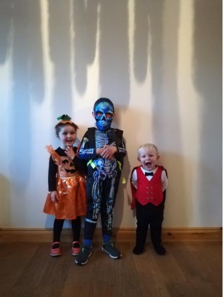 Caoimhe, Oisín & Darach