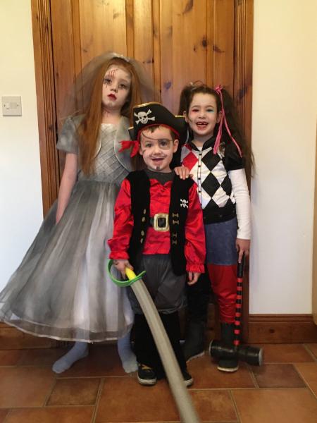 Zoe, Freya & Conor